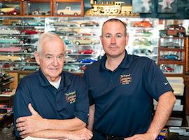 Mickey and Scott Glenn   Continental Transmission Cheektowaga